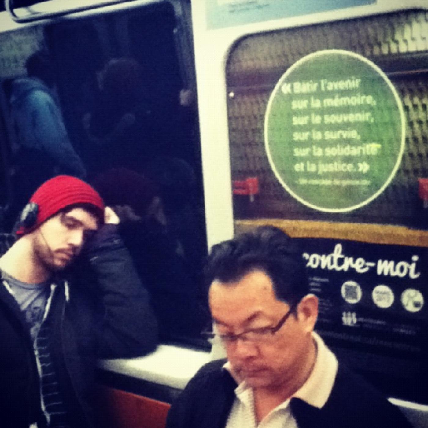 Retrouver quelqu'un rencontré dans le métro